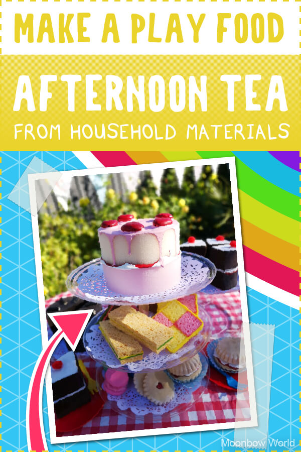 Play Food Craft Activity: Afternoon Tea