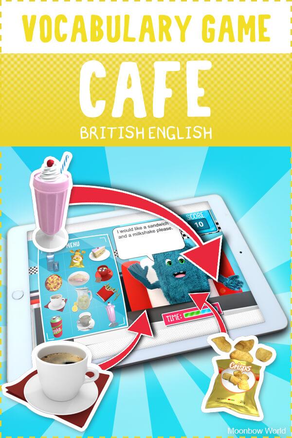 Cafe Vocabulary Game
