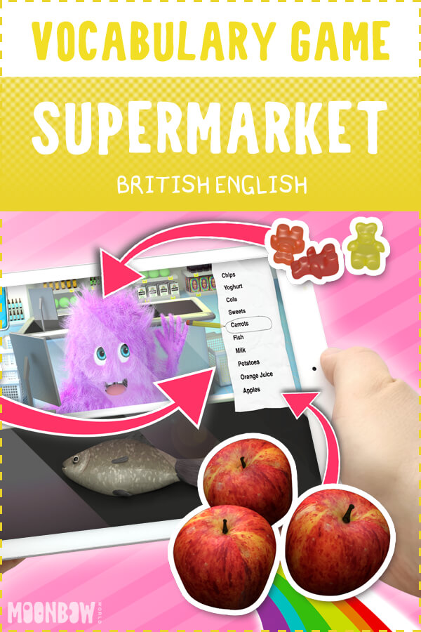 Supermarket Vocabulary Game