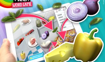 Pizza Toppings - Vocabulary Learning Game.