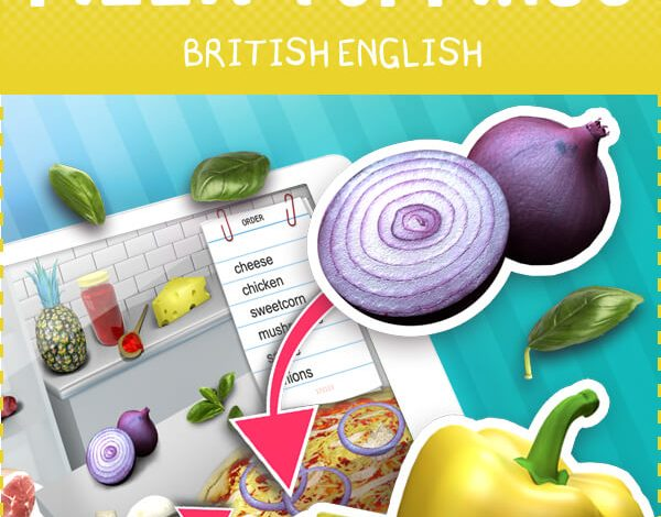 Pizza Vocabulary Game