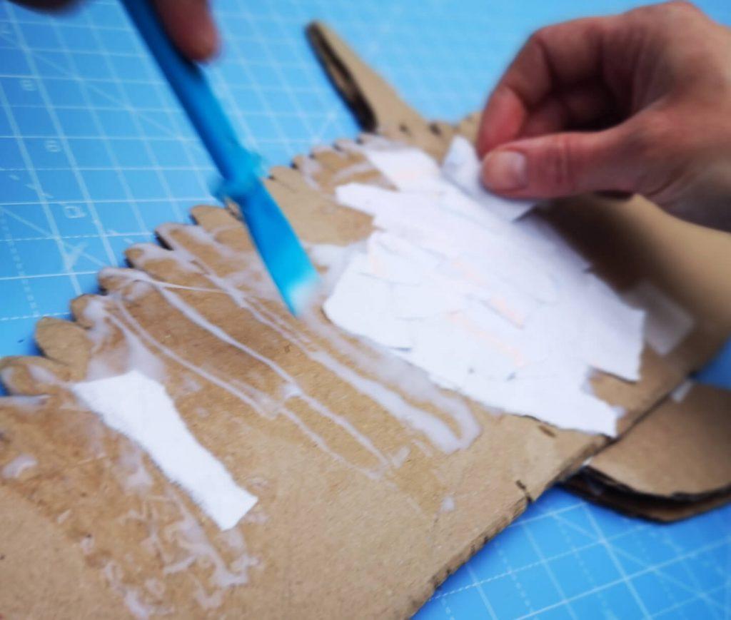 Paper mache.
