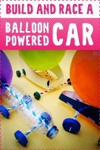 Build and Race a Balloon Powered Car