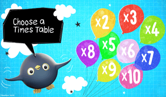 Times Tables Balloon Popping Game