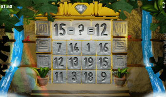 Missing Numbers Ancient Temple Mathematics Game